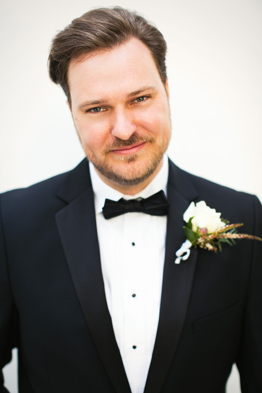 Ebell Long Beach Wedding - Grooms portrait