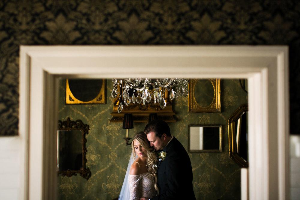 Ebell Long Beach Wedding - Mirror shot