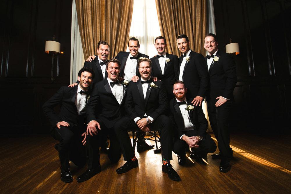 Ebell Long Beach Wedding - Groomsmen