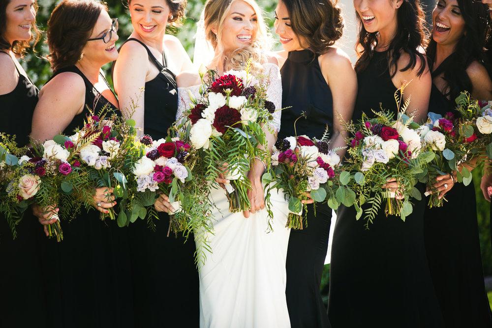 Ebell Long Beach Wedding - Bridal party