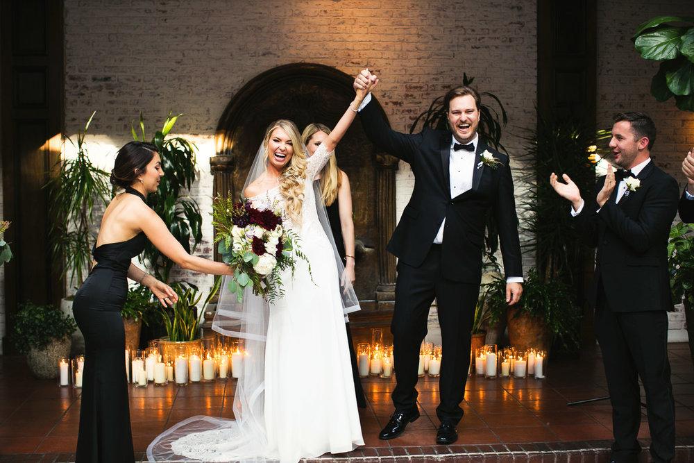 Ebell Long Beach Wedding - Just married