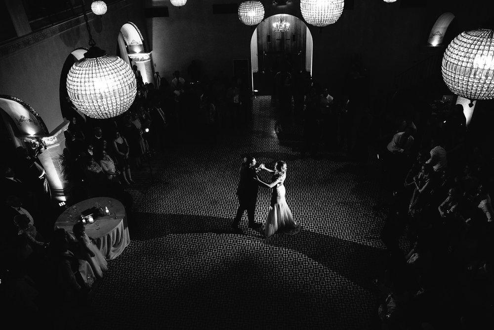 Ebell Long Beach Wedding - Dancing their first dance