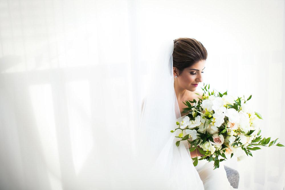 Bride Portrait at her Bently Reserve Wedding