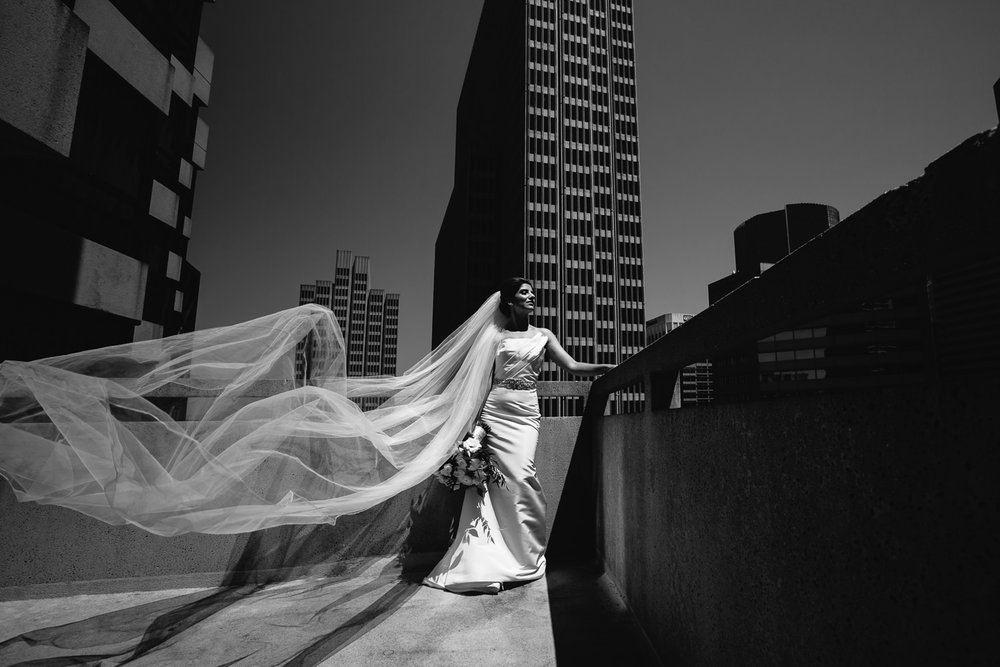 Gorgeous Bride at Le Meridien before her Bently Reserve Wedding