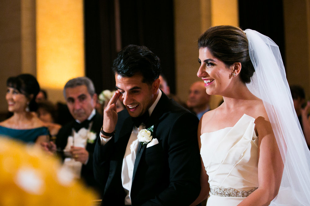 Emotional Persian wedding ceremony at the Bently Reserve