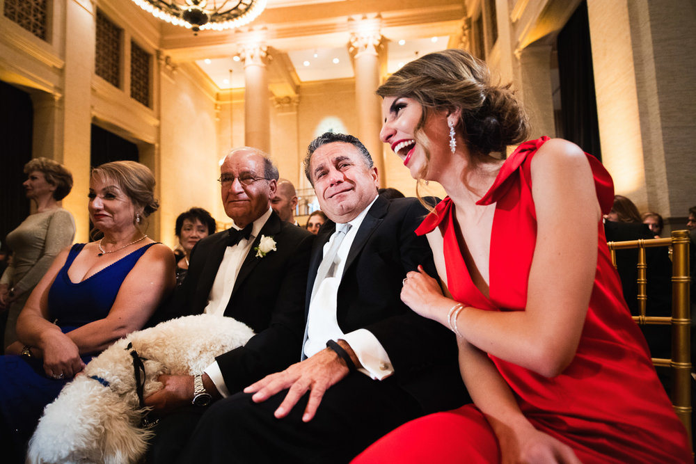 Lots of laughter at this Bently Reserve Wedding