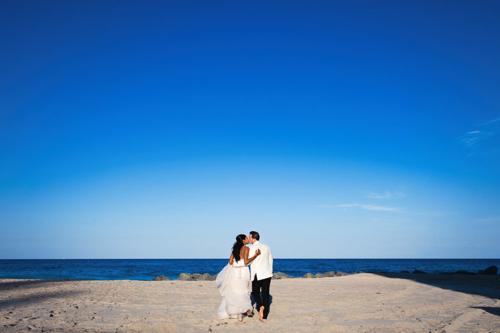 Breakers Palm Beach Wedding Color Classic Beach Photo
