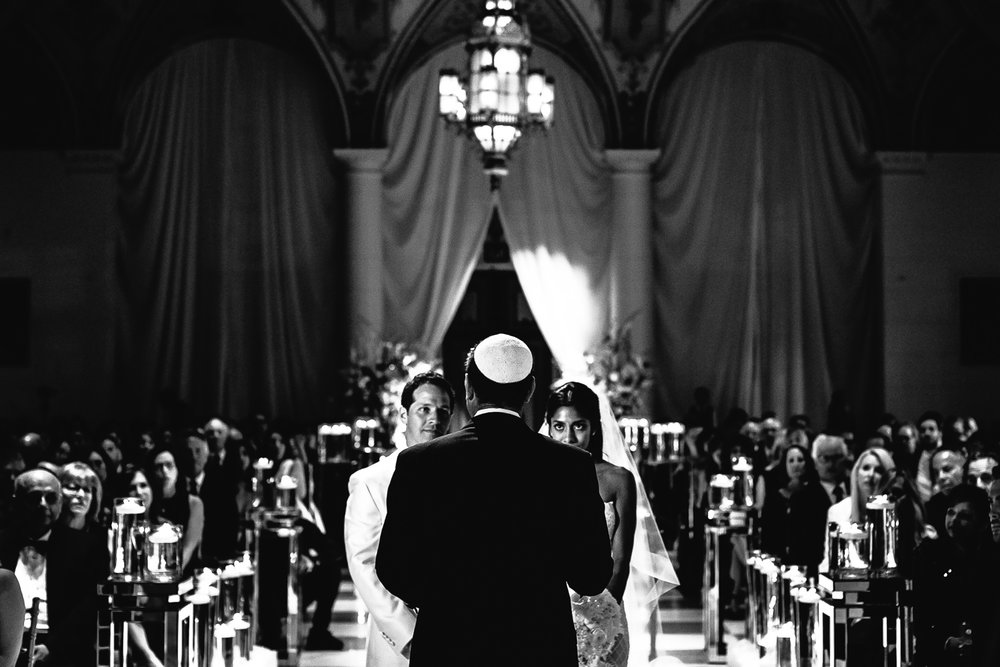 Traditional Jewish Breakers Palm Beach Wedding