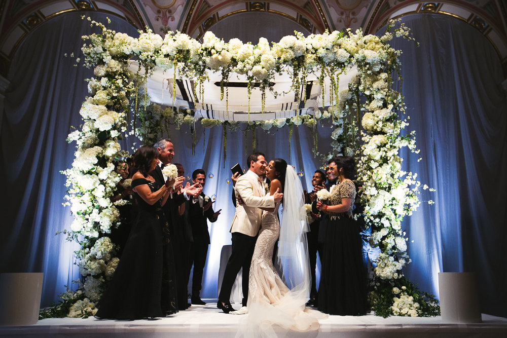 Best Jewish Breakers Palm Beach Wedding Ceremony