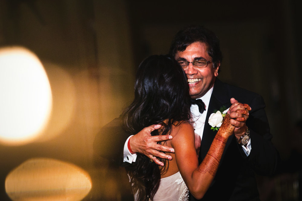 Father Daughter Dance at her Breakers Palm Beach Wedding Reception