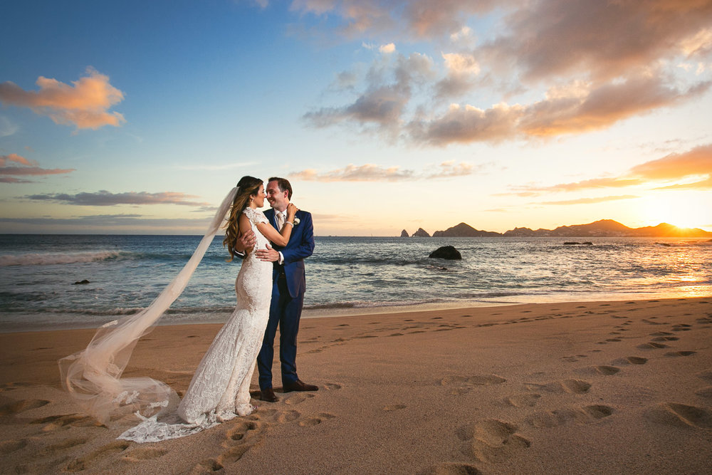 The Cape, a Thompson Hotel wedding in Cabo San Lucas on the beach