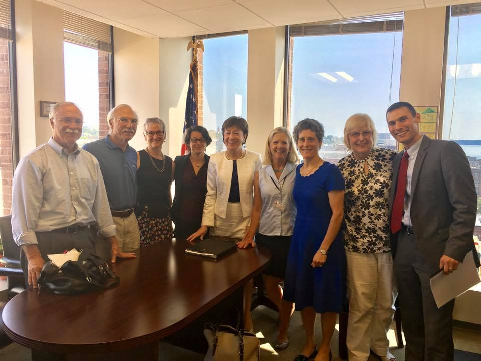 Stand up ME with Senator Susan Collins