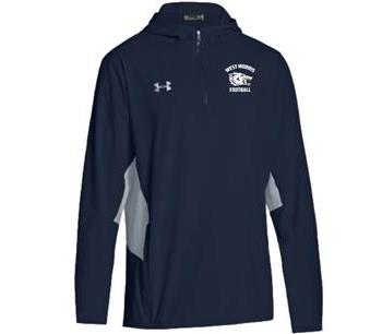 Under Armour 1/4 Zip with Hood