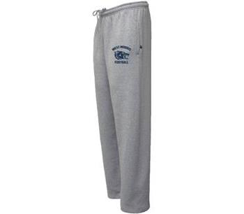 Unisex Open-Bottom Sweatpants