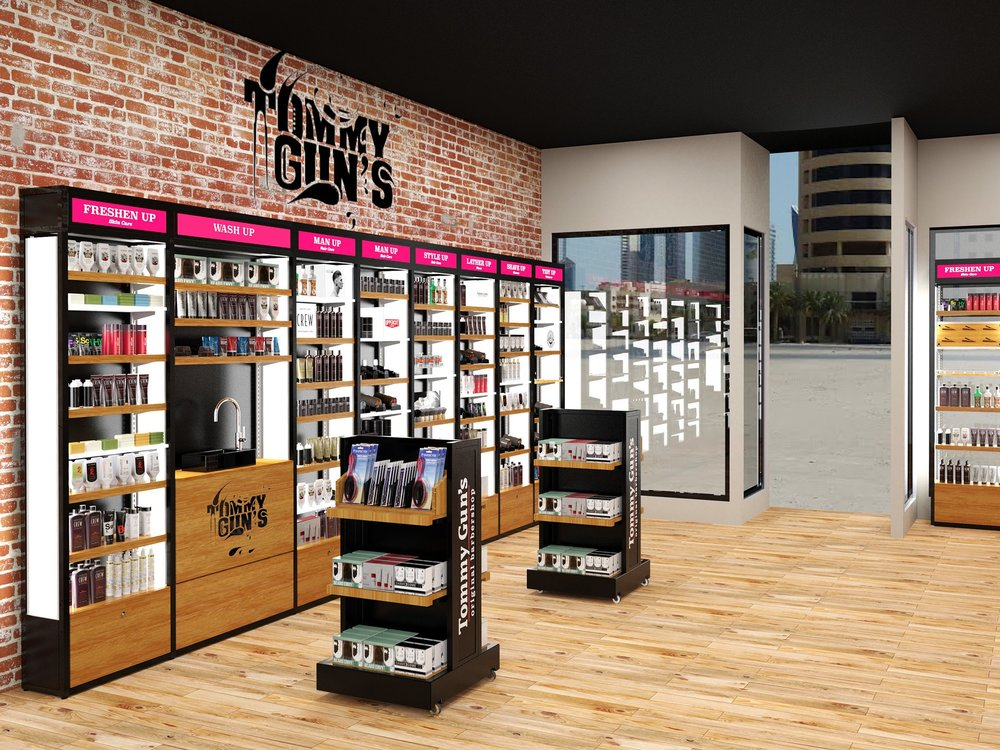 TOMMY GUN'S  We designed the Tommy Gun's store design as an all in one modular shelving system to increase sales and brand awareness for the Tommy Guns Canadian and Australian store networks.  >>  read more