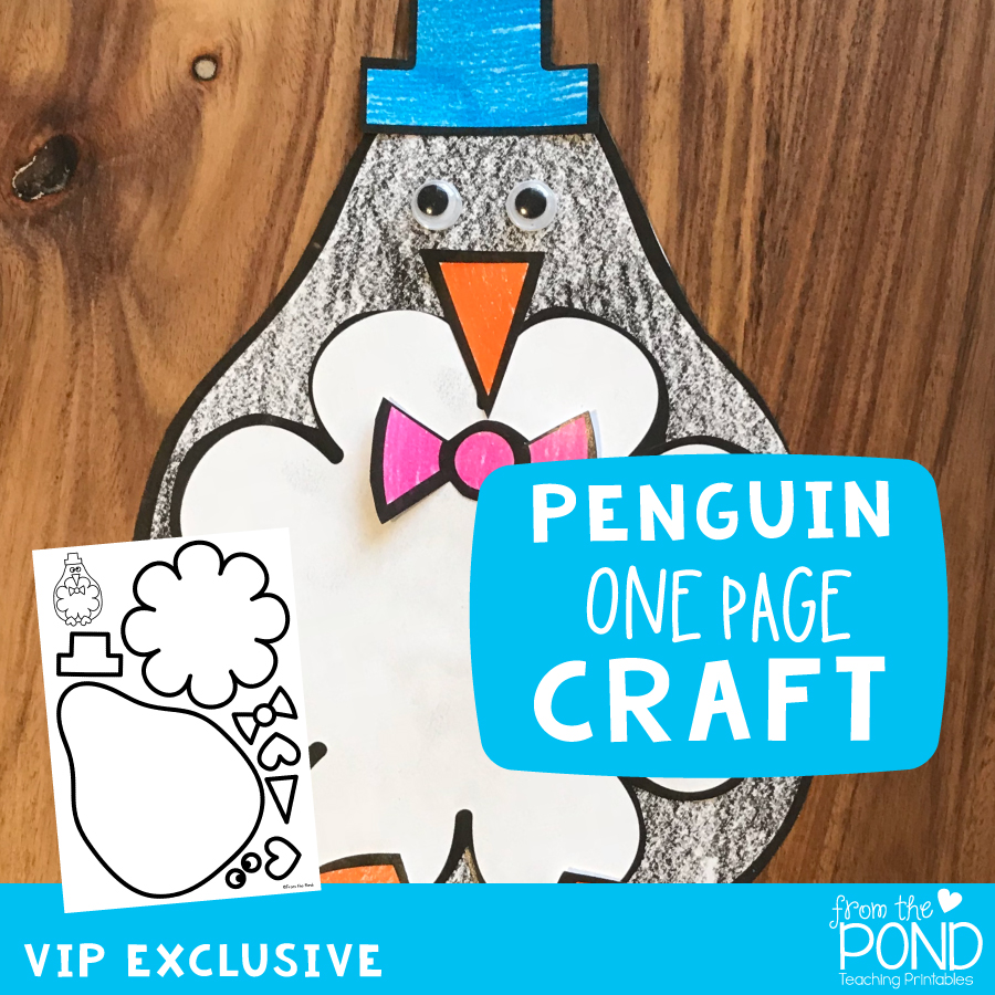 Penguin One Page Craft