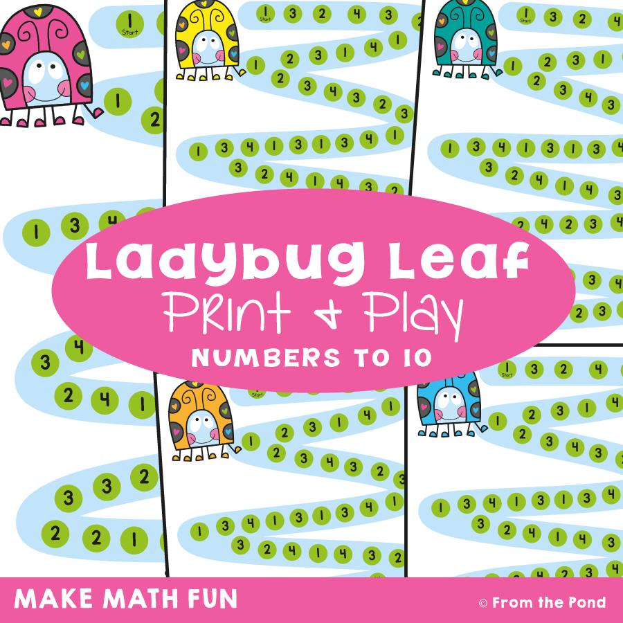 Ladybug Leaf