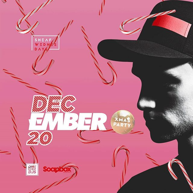 It's the Sheaf Wednesdays Christmas Party tonight! @emberbeats is your guest of honor so dress festive and see you soon 🎄🎉🎄