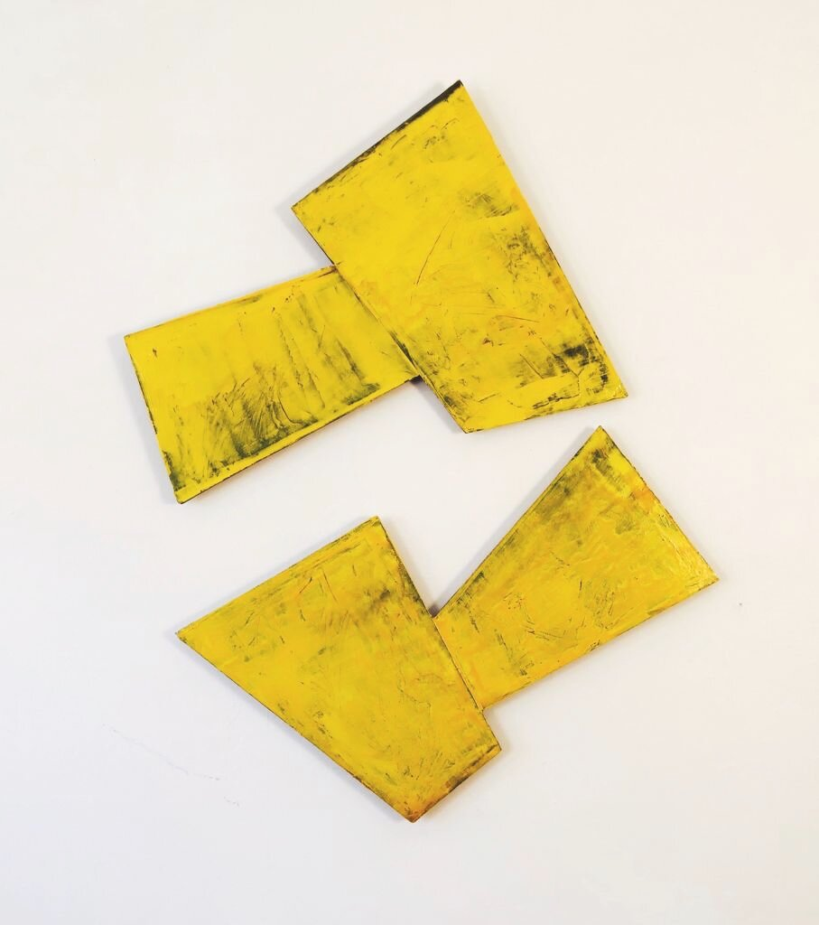 2 Yellow Shapes, 2010