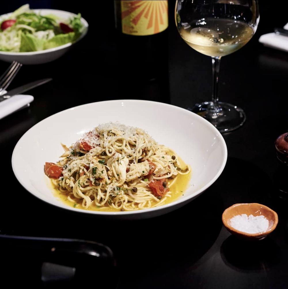 Shadow Wine Bar:  Shark Bay Spaghettini