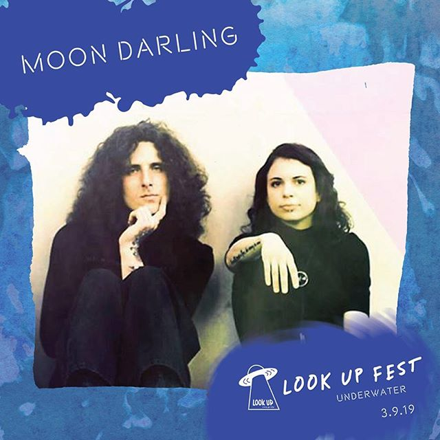 Next up for Moon Darling 🌙 @lookuprecords Look Up Fest, Saturday 3/9 at @fredwildliferefuge w/ @shtghst and many many more!  Underwater themed!  Photo booth sea cave, projections, & so much more. Tickets only available at lufu.eventbrite.com • Stayed tuned!