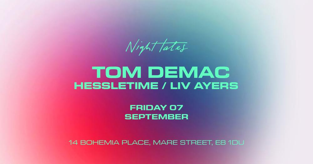 Tom Demac Hessletime Liv Eyers FB Event.png