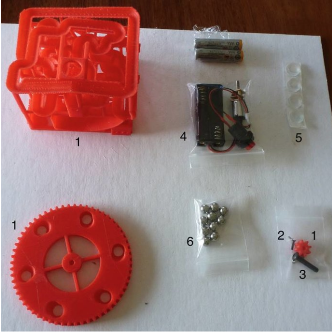 Small Gear Kit - Download Kit Assembly InstructionsDownload Kit Soldering Instructions (not required for all kits)