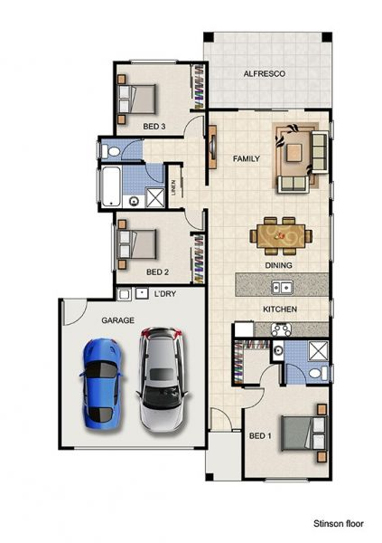 3 Bed | 2 Bath | 2 Lounge | 2 Car