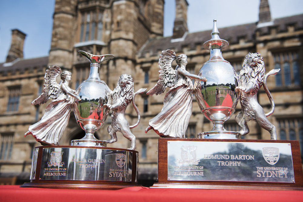 The Bella Guerin and Edmund Barton trophies.jpg
