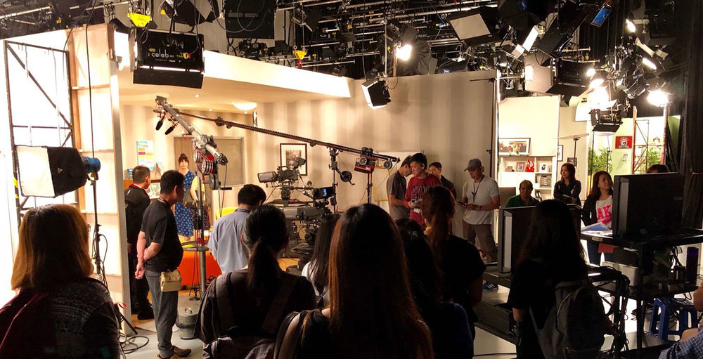 Mediacorp Studios Behind-The-Scenes Tour for Diploma students