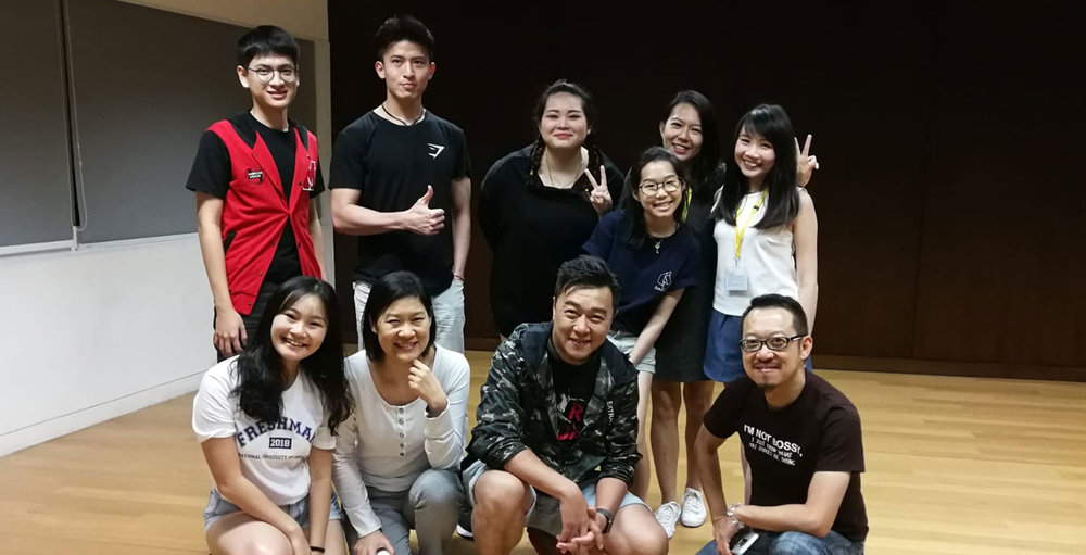 Guest Sharing Session by Guo Liang (Mediacorp's Artiste) for Acting Diploma students
