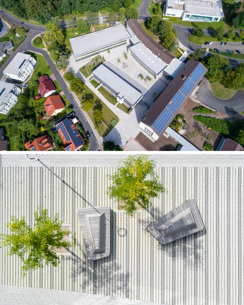 Gesamtschule, Melsungen, August 2017