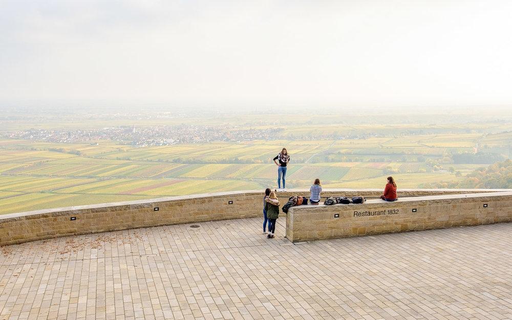 Panoramaplatz am Schloss Hambach (Rheinland-Pfalz), Projektdokumentation für LOMA architecture landscape urbanism und Riehl Bauermann Landschaftsarchitekten, Oktober 201