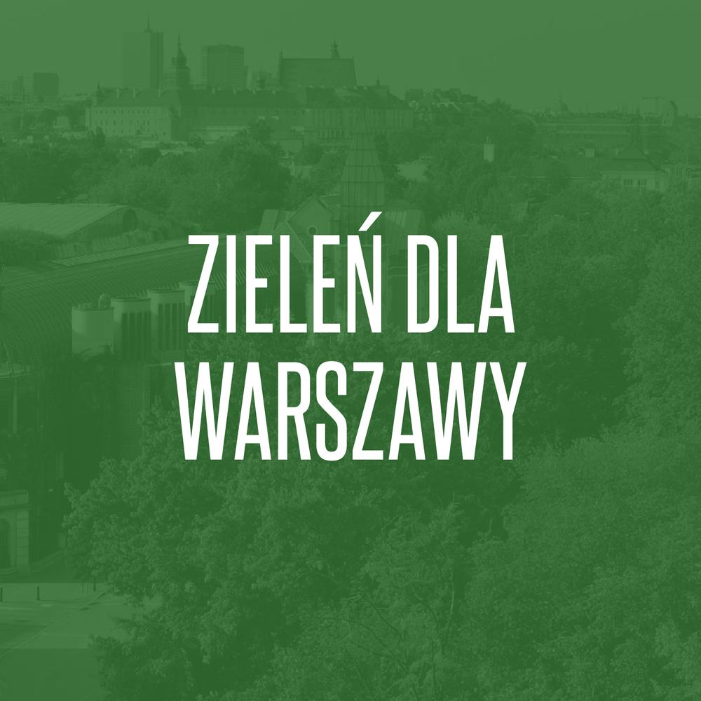 14/05/2018  Zieleń dla Warszawy