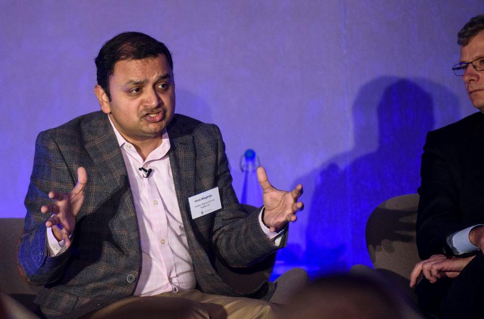 Vivek on stage.JPG