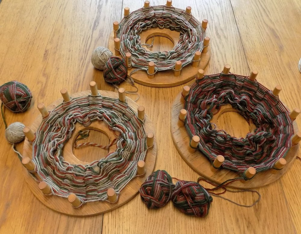 Fernhill Fibre Snood Knitting Worksho
