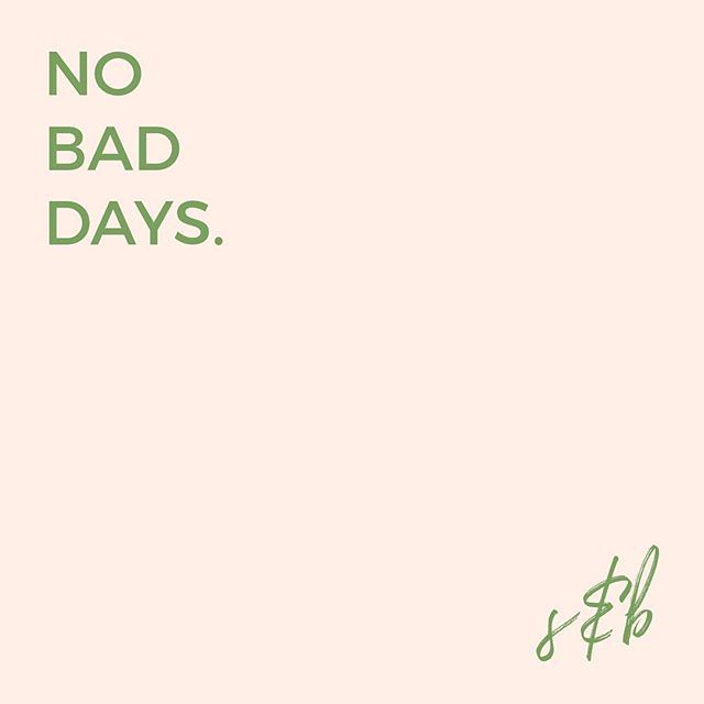 You read right. Zero. ✊🏻 #nobaddays
