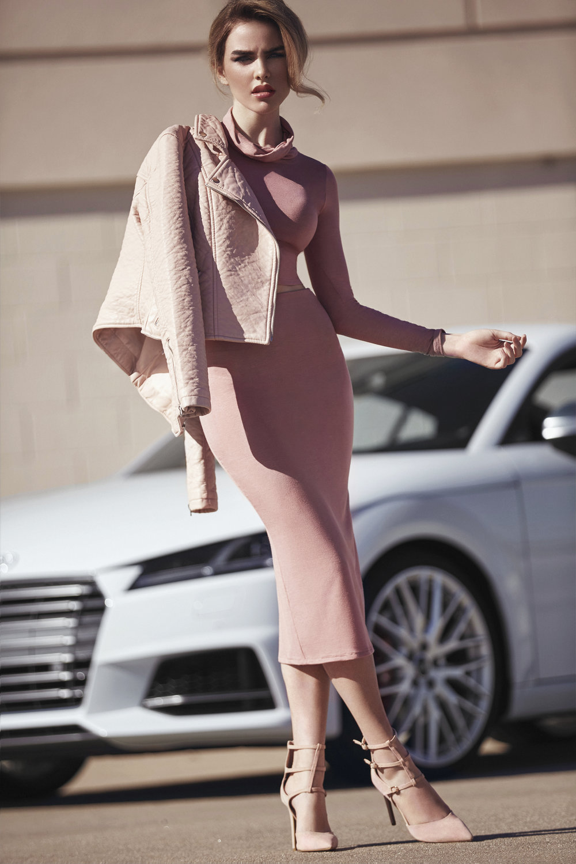 Shea - Pink Mono