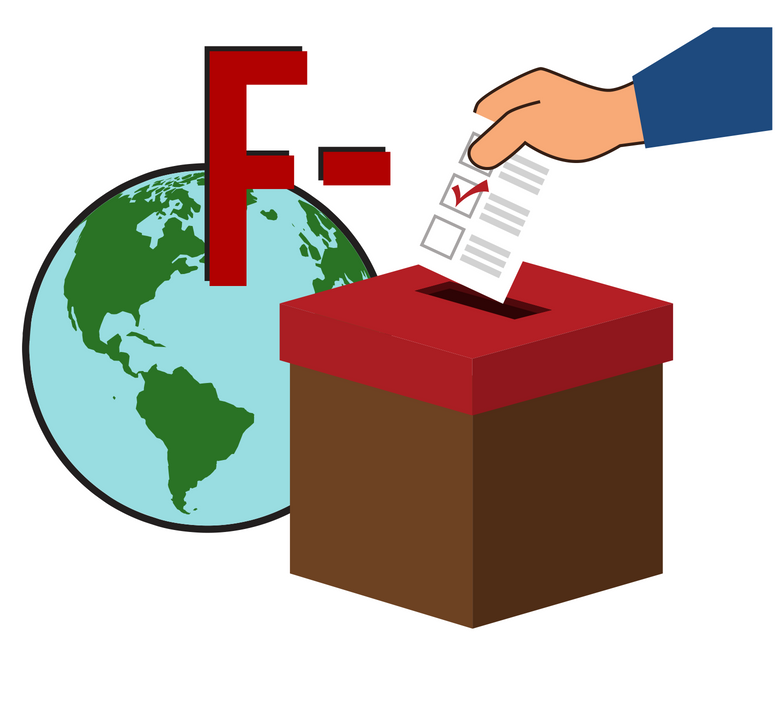 Failure to adhere to international standards governing the appropriate conduct of elections. -