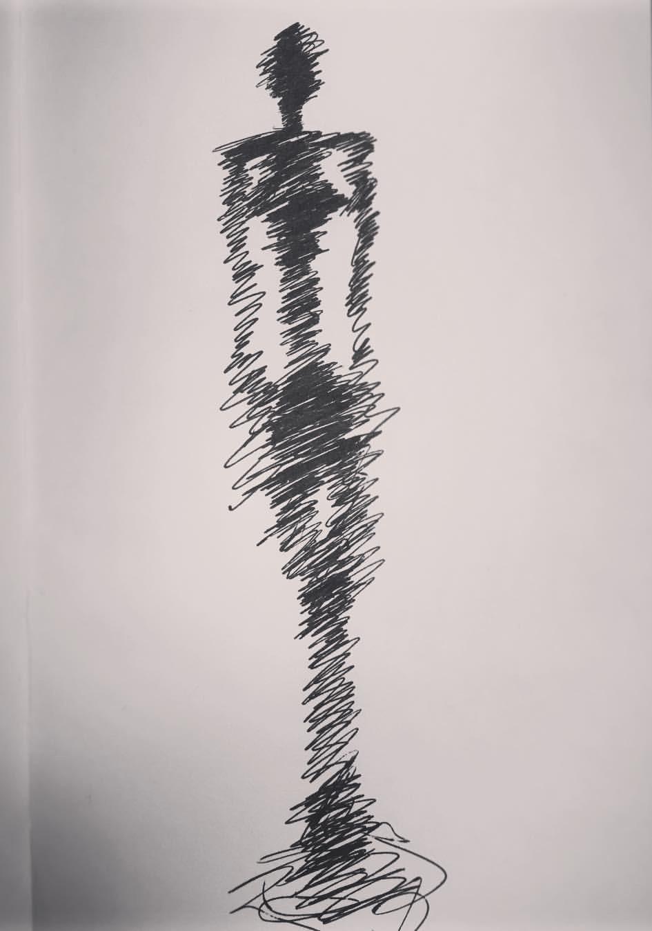 Giacometti Gallery Sketch II