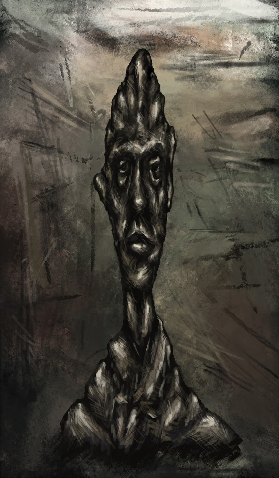 Giacometti Fan Painting
