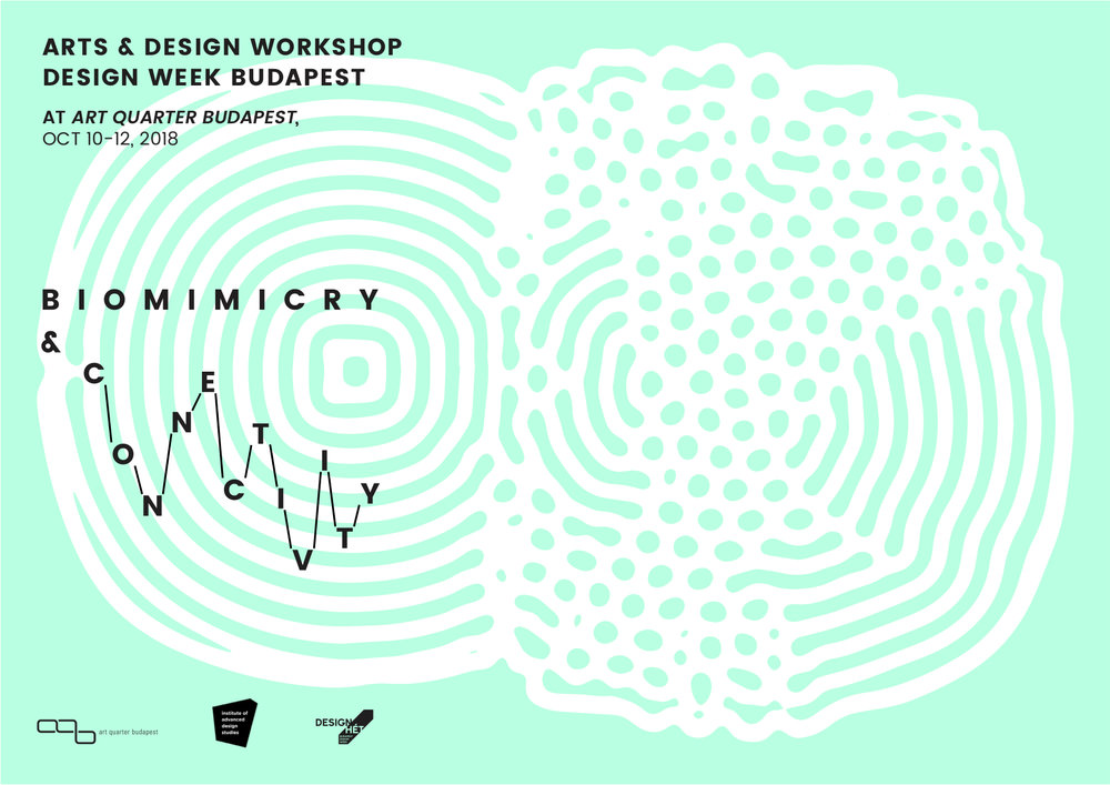 Biomimicry & Connectivity arts and design co-lab, 10-12 Oct. 2018