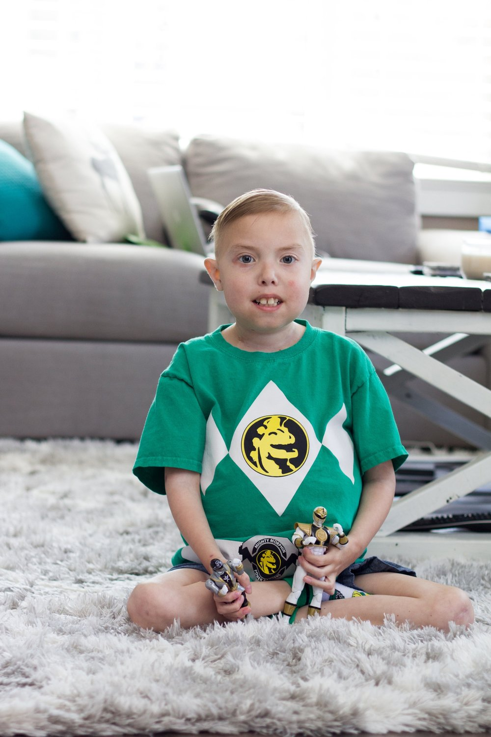 Health - Landon is a humorous eight-year-old who loves Power Rangers, creating YouTube videos and playing pranks. Learn about a life you helped save and protect through exceptional health care at Children's Hospital at London Health Sciences Centre.