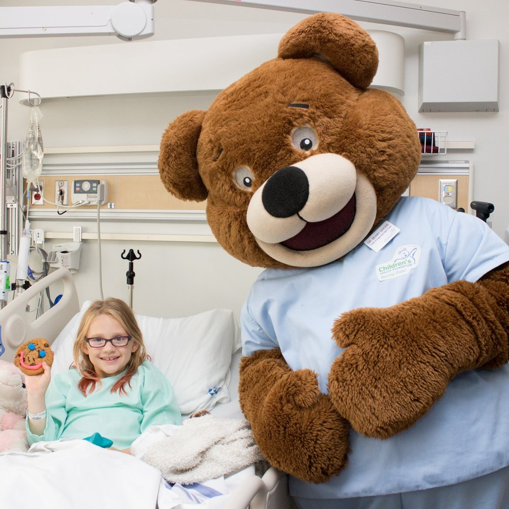 $3,400,000 - invested in specialized paediatric health care at Children's Hospital