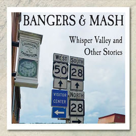 Bangers and Mash Whisper Valley and Other Stories Record Album Cover