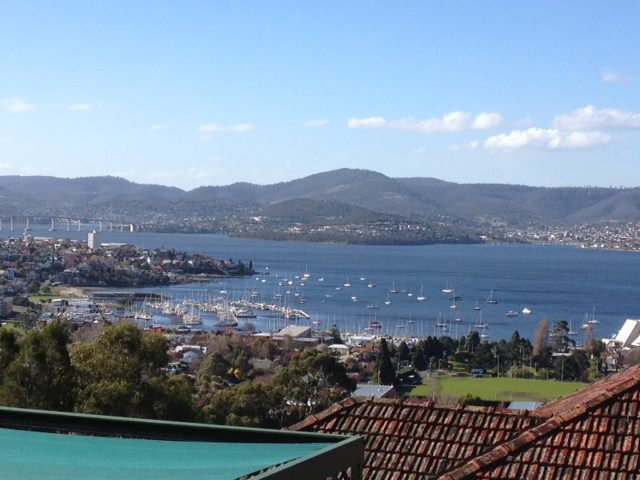 Hobart, Tasmania, where I was invited to present the results of the BRM at the University of Tasmania.