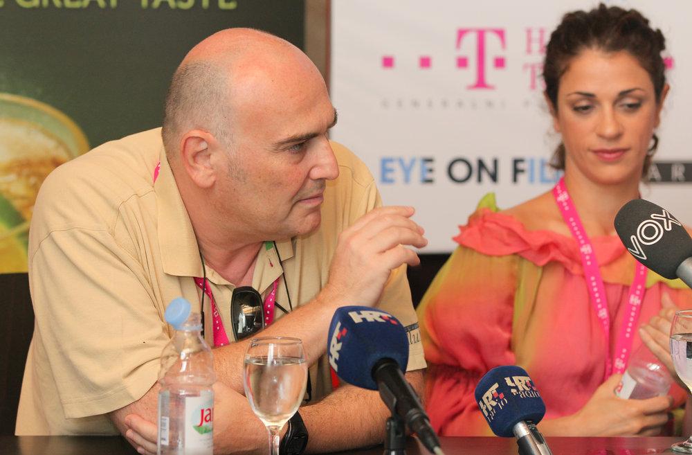 Antonio Saura Medrano   (producent, direktor Latido Film, podpredsjednik  The European Film Academy ),  Ruth Gabriel  (glumica)