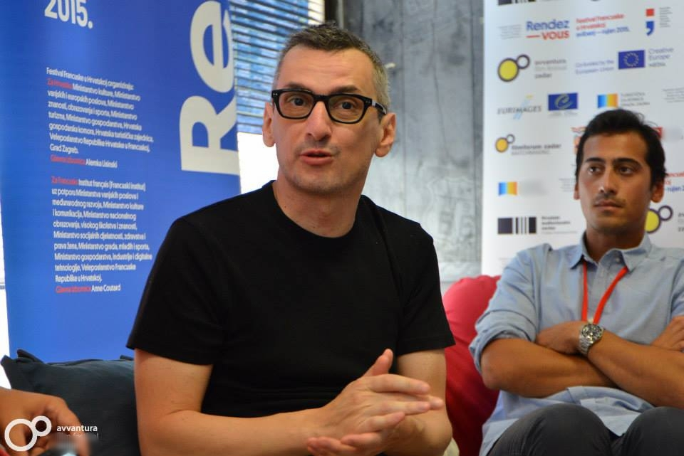 Ognjen Sviličić  (Screenwriter) and  Jordan Goldnadel  (Director) at AMF