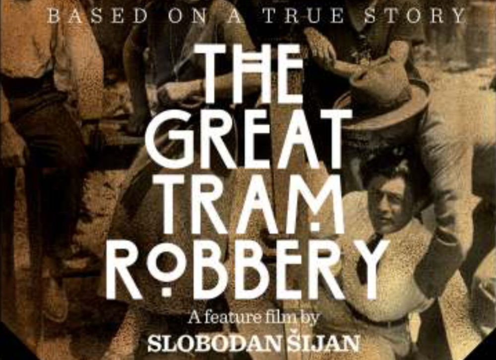 From the Projectbook of THE GREAT TRAM ROBBERY