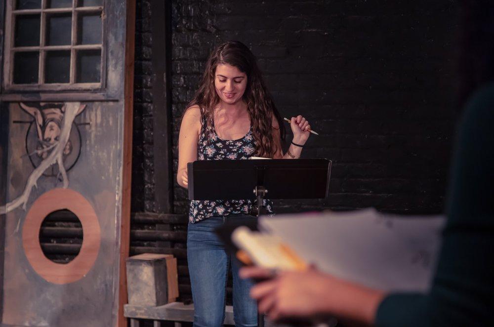 Tessa played by Serena Berman